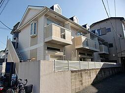 埼玉県川口市前川3丁目の賃貸アパートの外観