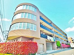 神奈川県川崎市麻生区南黒川の賃貸マンションの外観