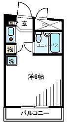 日興パレス渋谷PARTIII[3階]の間取り