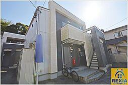 千葉県千葉市花見川区検見川町2丁目の賃貸アパートの外観