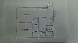 稲永アパート[2階]の間取り