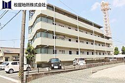 愛知県豊橋市草間町字二本松の賃貸マンションの外観