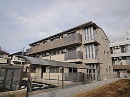 埼玉県越谷市花田1丁目の賃貸アパートの外観