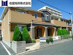 愛知県豊橋市大橋通3丁目の賃貸アパートの外観