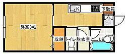 ロックハウスI[103号室]の間取り