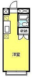 コーポ94[203号室]の間取り
