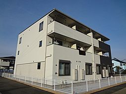 愛知県豊田市桝塚西町北小畔の賃貸アパートの外観