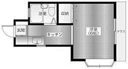 ブルーハイム[2階]の間取り