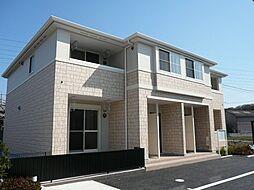 愛知県岡崎市大平町字東田潰の賃貸アパートの外観