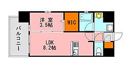 仮称)LANDIC K2620 10階1LDKの間取り