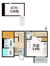 河原町駅 5.3万円