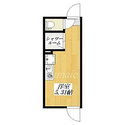 レガロアパートメント北赤羽[1階]の間取り