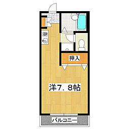 鎌倉ハイツ[103号室]の間取り