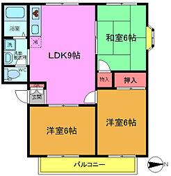 MMホーム[205号室]の間取り