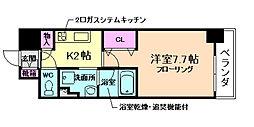 アーバネックス堂島[4階]の間取り