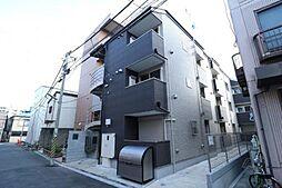 東京都荒川区町屋2丁目の賃貸アパートの外観