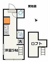 アーバンプレイス新宿戸山A[2階]の間取り