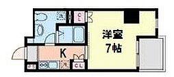 KANEMURANo.2BLD.[405号室]の間取り