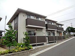 埼玉県入間市扇町屋4丁目の賃貸アパートの外観