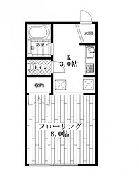 DUEXYUKI(デューユキ)[1階]の間取り