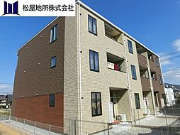 愛知県豊橋市仁連木町の賃貸アパートの外観