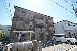 大阪府堺市北区北長尾町4丁の賃貸アパートの外観