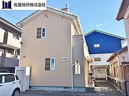 愛知県豊橋市柱九番町の賃貸アパートの外観