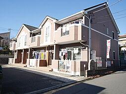 神奈川県綾瀬市小園の賃貸アパートの外観