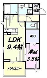 多摩都市モノレール 砂川七番駅 徒歩2分の賃貸アパート