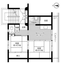 青沼駅 3.3万円