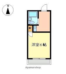 八幡前駅 2.3万円
