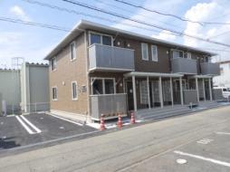 JR瀬戸大橋線 茶屋町駅 徒歩7分の賃貸アパート