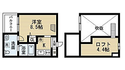 ブルーアゲート (ブルーアゲート)[2階]の間取り