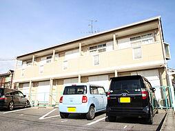 愛知県名古屋市名東区社が丘4丁目の賃貸アパートの外観
