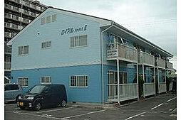 愛知県岡崎市牧御堂町の賃貸アパートの外観