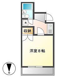 レジデンスM1[3階]の間取り