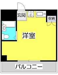 ヒルハウス コンフォートI[9階]の間取り