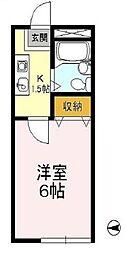 ヒルズ経堂I[1階]の間取り