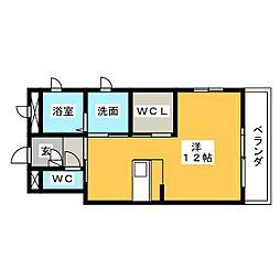 アベニュー新生[2階]の間取り