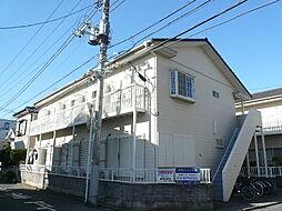 秋本ハイツA棟[202号室]の外観