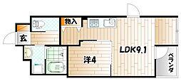 Espoir 〜エスポワール〜[2階]の間取り