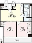 収納豊富、居室も広く、使いやすい間取り。