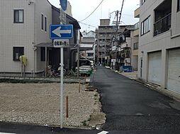 前面道路は交通...