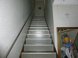2階住宅へ階段