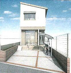 (仮)中原町新築アパート[202号室]の外観