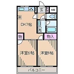 ファインビューエリア[1階]の間取り