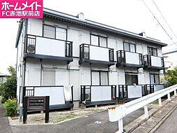 愛知県長久手市五合池の賃貸アパートの外観