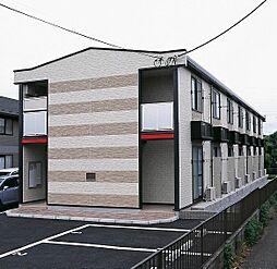 東京都多摩市百草の賃貸アパートの外観