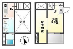Alba 港栄[2階]の間取り