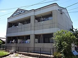 愛知県一宮市大和町苅安賀字地蔵前の賃貸アパートの外観